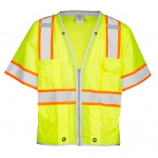 MLK Class III Lime Safety Vest