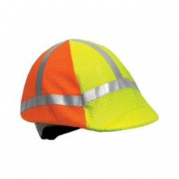 MLK 2-Tone Hard Hat Cover Hi-Vis