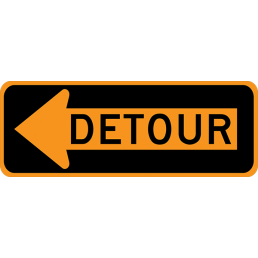 Detour Arrow (with arrow)