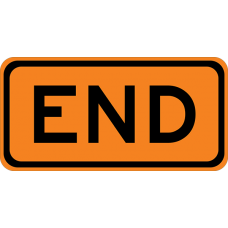 End (Plaque)