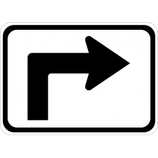 Advance Turn Arrow Auxiliary Right (90 degree)