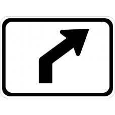 Advance Turn Arrow Auxiliary Right (45 degree)