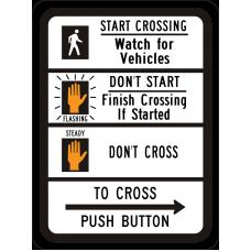 Pedestrian Traffic Signal (symbol)