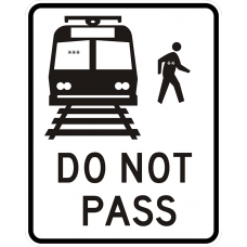 Do Not Pass Light Rail Transit