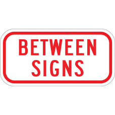 Between Signs