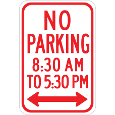 No Parking (time limit)