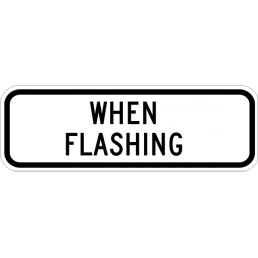When Flashing (plaque)
