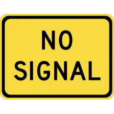 No Signal (plaque)