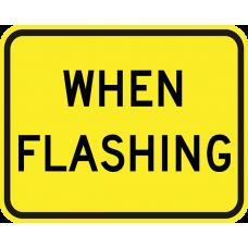 When Flashing (plaque)