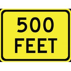 Distance (feet) (2 line)