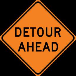 Detour Ahead