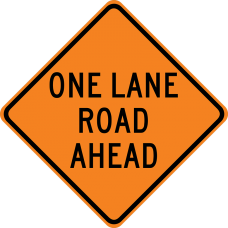 One Lane Road Ahead