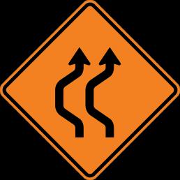 Double Reverse Curve (2 lane)