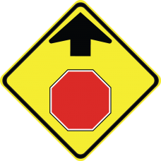 Stop Ahead (Symbol)