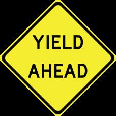 Yield Ahead (Legend)