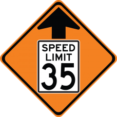 Speed Reduction Ahead