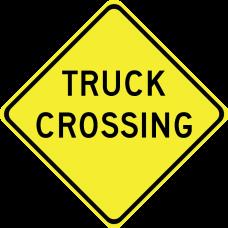 Truck Crossing (word legend)