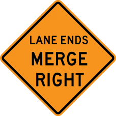 Lane Ends Merge